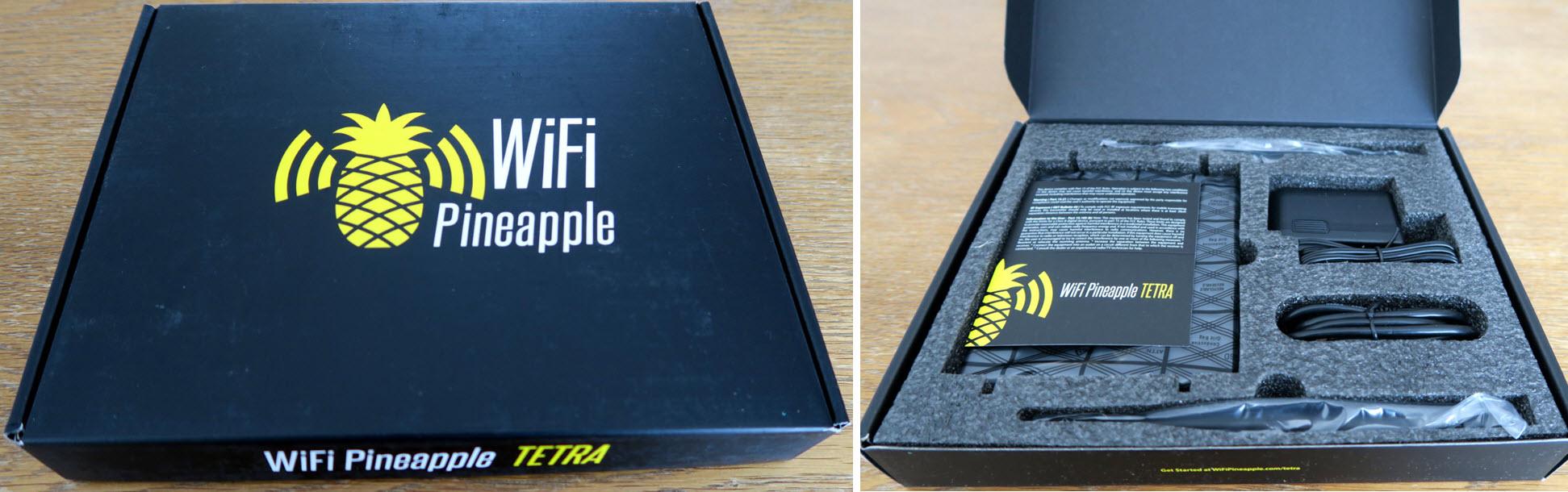 WiFi Pineapple Tetra - HAK5: Jarno Baselier
